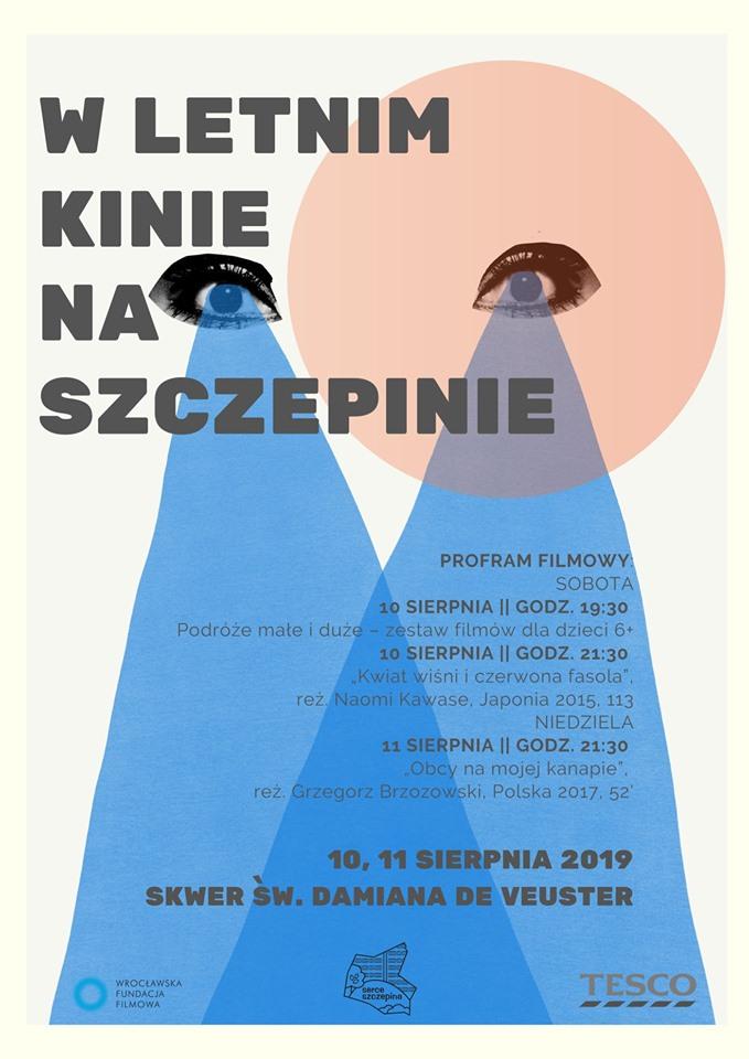Letnie kino na Szczepinie